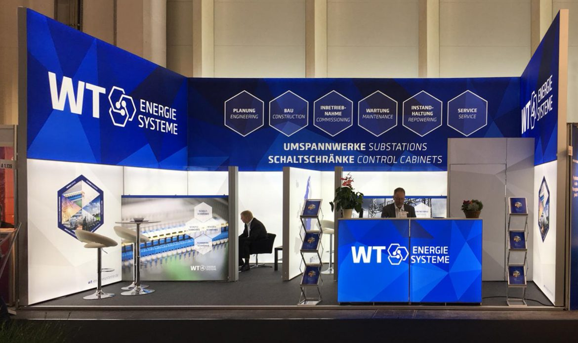 WT Energiesysteme Messestand